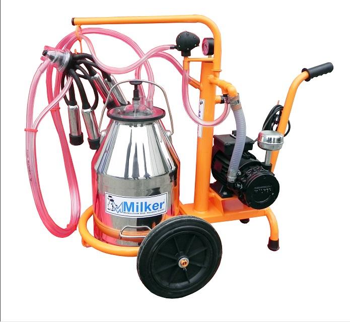 Aparat de muls vaci Milker Economic 1/1 INOX  MILKER E-1/1 INOX