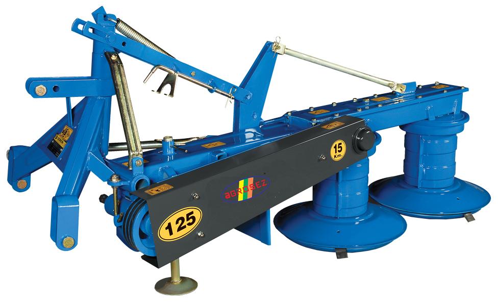 Cositoare rotativa cu tambur 125 cm  SRM 125