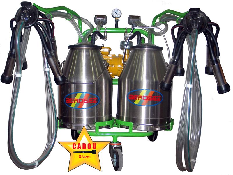 Aparat de muls vaci AGR 2/2 inox