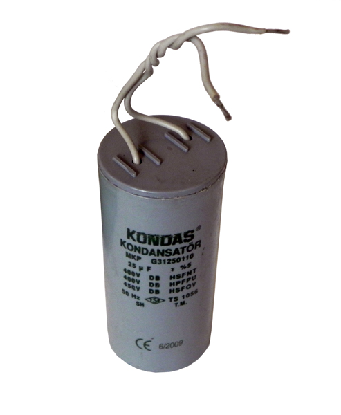 Condensator motor aparate de muls