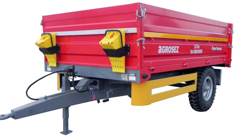 Remorca monoax 3,5 T  TR-4560