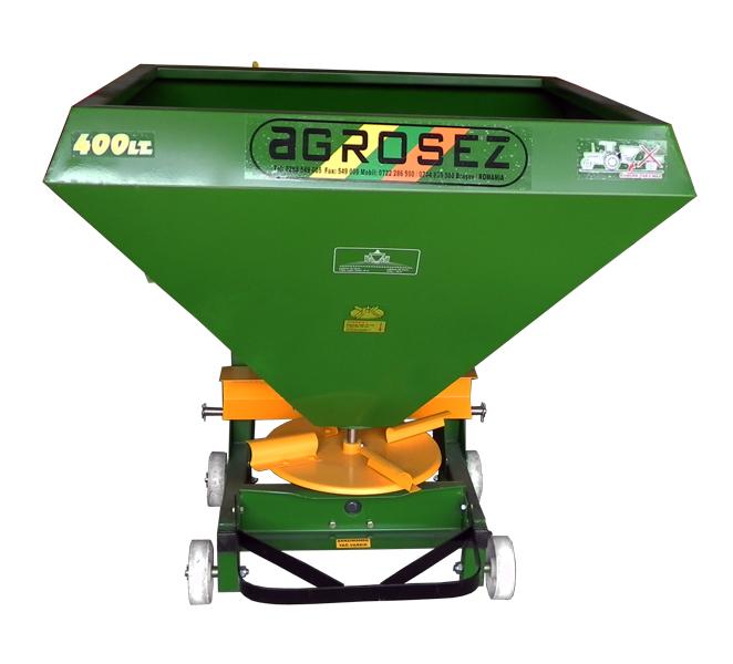Fertilizator-Masina de fertilizat 400 l