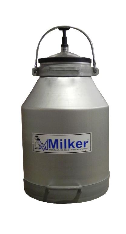 Bidon pentru lapte din aluminiu 30L
