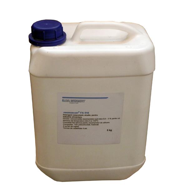 Detergent degresant lichid alcalin