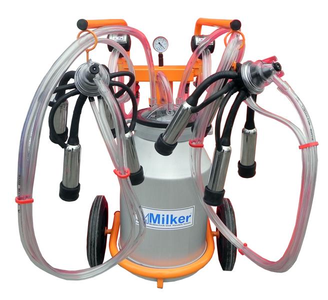 Mulgatoare de vaci Milker Economic 2/1 Aluminiu