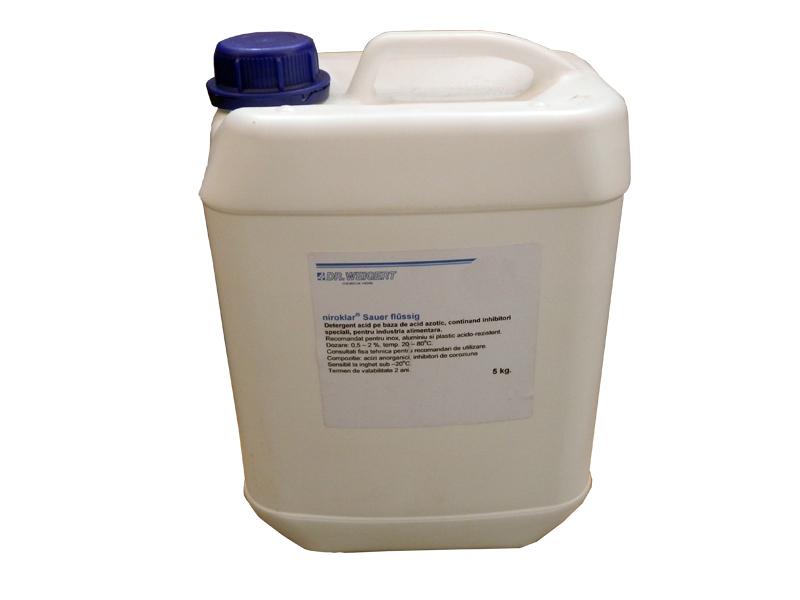 Detergent dezinfectant lichid acid